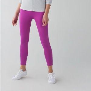 Lululemon Zone In Legging size 6 Ultra Violet